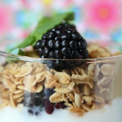 Try this: Blackberry Lemon Parfaits