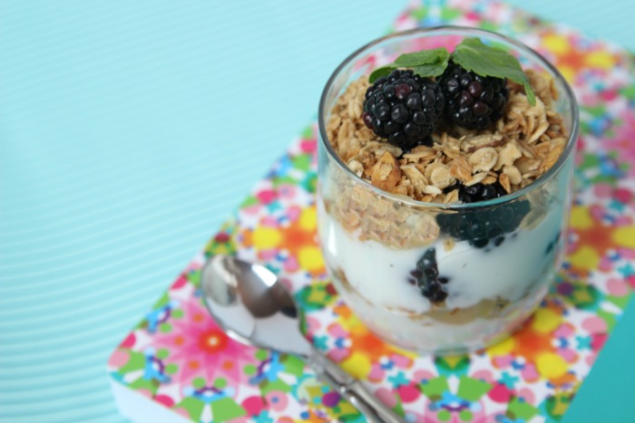 Blackbery Lemon Parfaits - my new favorite breakfast