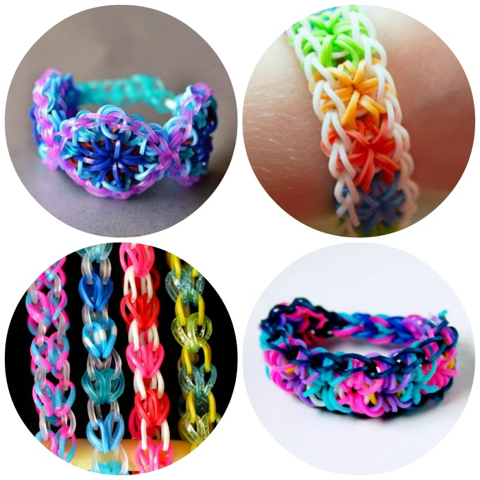 Make Rainbow Loom bracelets for a birthday party