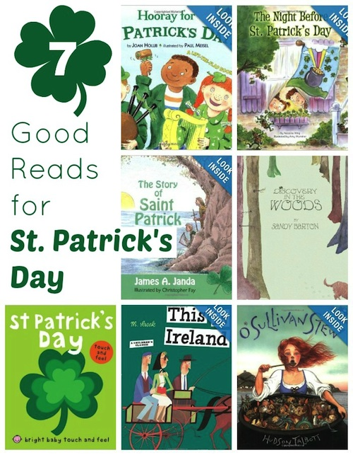Great reading list for St. Patrick's Day