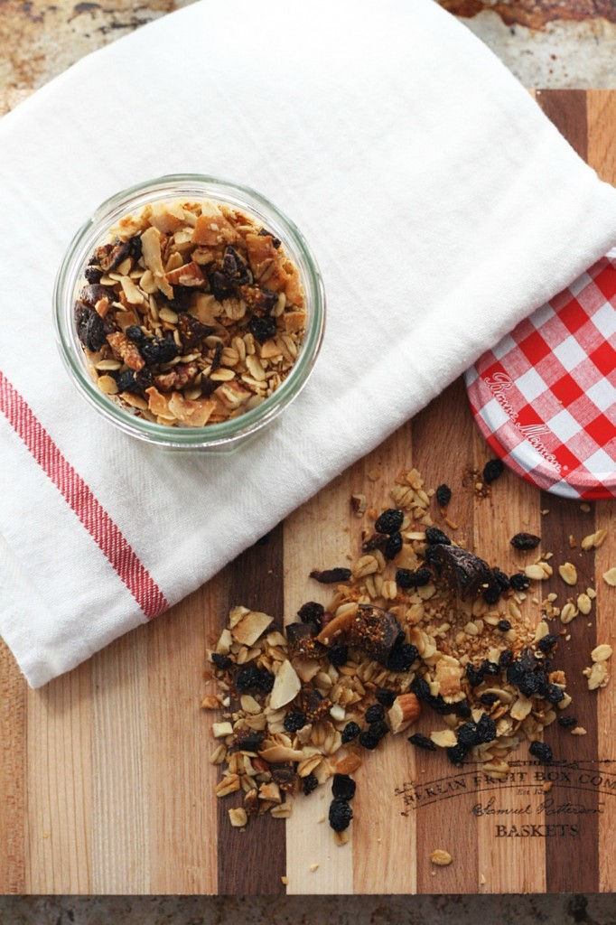 One of my favorite recipes for Homemade Granola