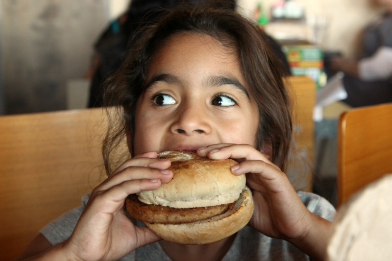 Kids LOVE Earth Burger, support their kickstarter today