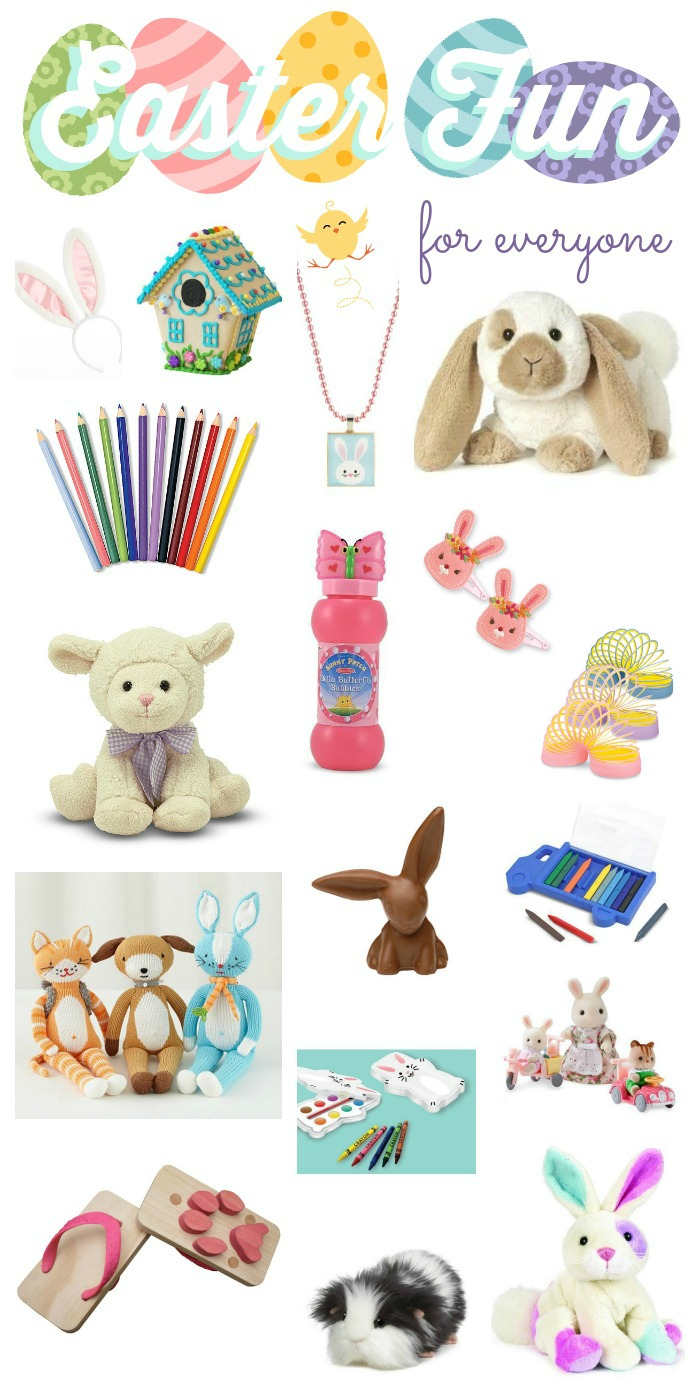So many cute ideas for filling Easter baskets!