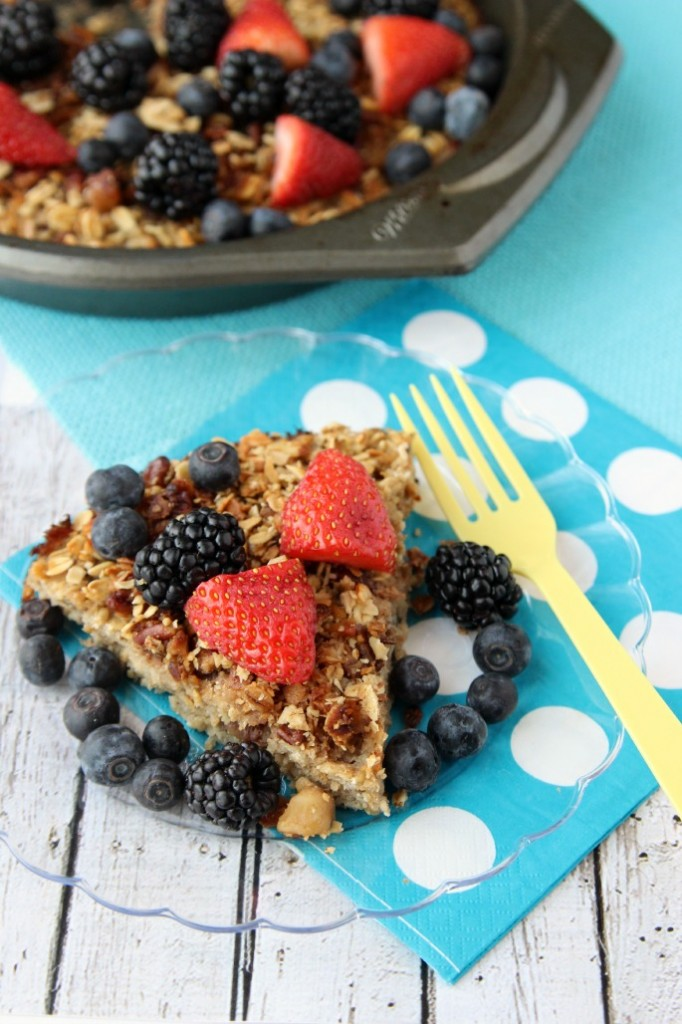 healthy fruit syrup recipe healthy baked oatmeal with fruit