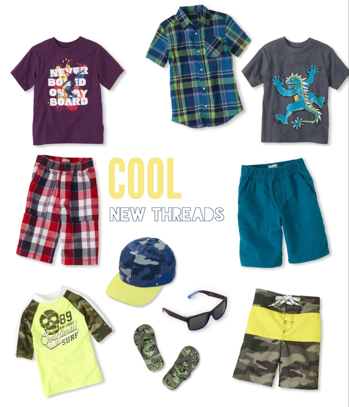 Cool summer clothes for boys