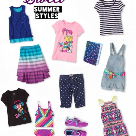 Sweet Summer Styles for kids curated by Kids Stuff World from Children's Place