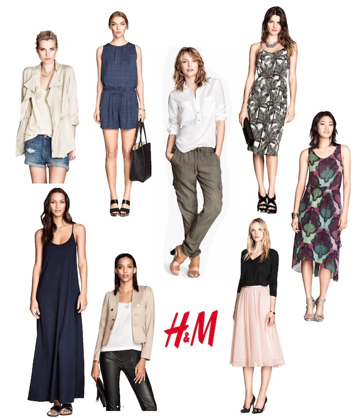 The H&M 2014 Summer Capsule Collection -- love how these pieces work well together and with other items I already own