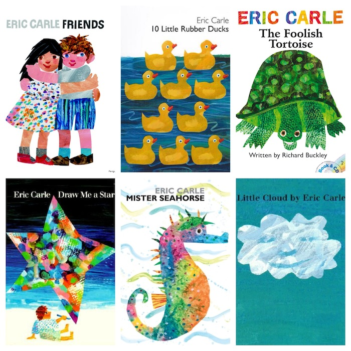 More great books from beloved illustrator Eric Carle