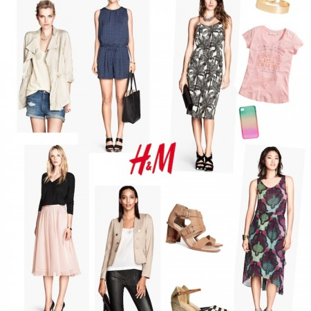 Loving the summer styles at H&M this year!