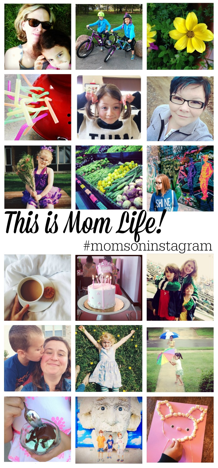 Share your snapshots of motherhood and connect with other moms on Instagram by using the hashtag #momsoninstagram