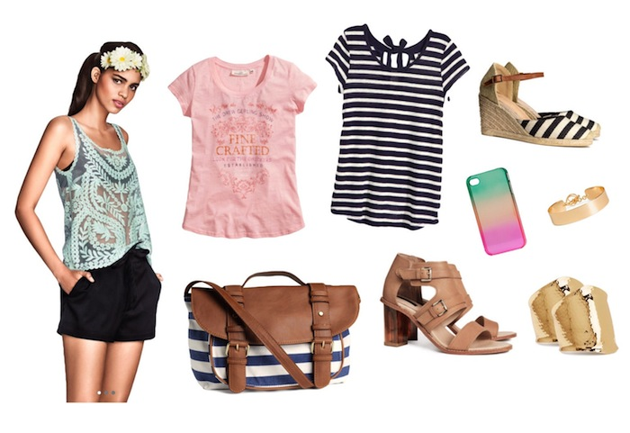 A few items from H&M to add some fun and functionality to my summer wardrobe