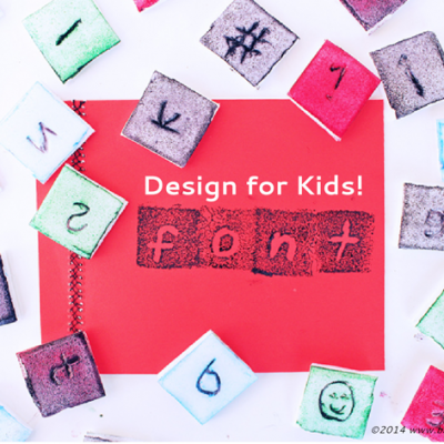 Design for Kids Series: Design Your Own Font!