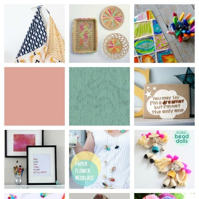 10 Colorful Craft Ideas To Get You Making Now!