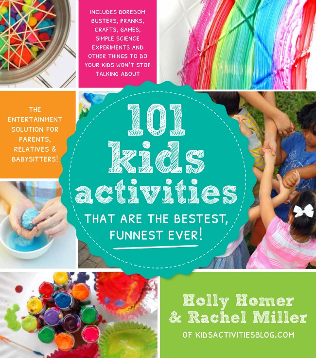 101 Kids Activities -- My Go To Encyclopedia of Boredom Busters.