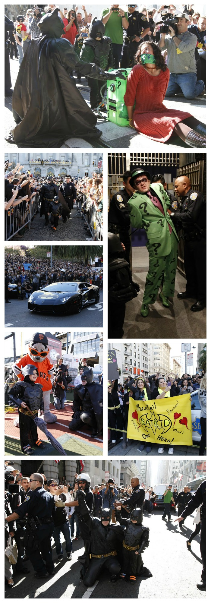Batkid saves San Francisco aka Gotham City