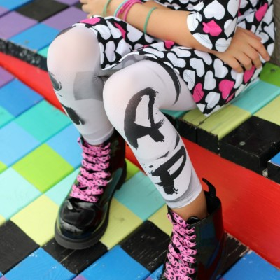 How to Make Graffiti Leggings