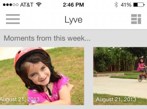 a look back at what happened a year ago from Lyve