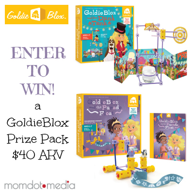 Enter to win a GoldieBlox Prize Pack on Kids Stuff World. Contest end October, 2 2014.