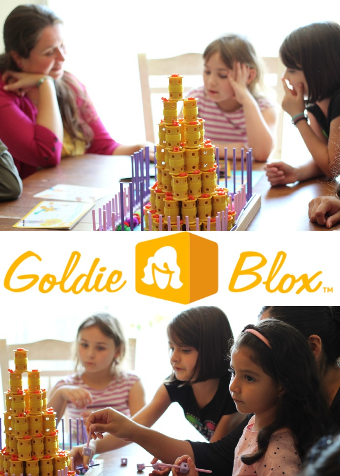 GoldieBlox Tinker Party - the perfect solution for kids who like to think outside the box