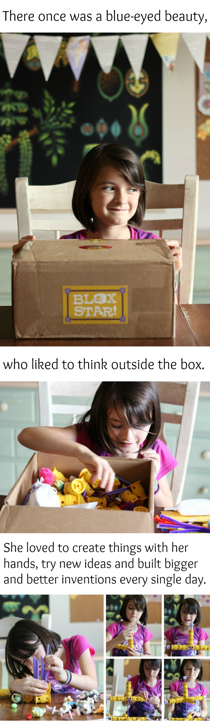 Do you have a girl who likes to think outside the box? You'll probably like this story.