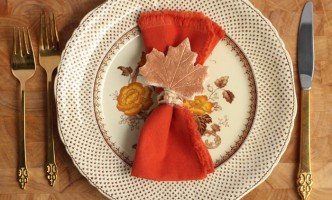 Make A Personalized Thanksgiving Keepsake: DIY Salt Dough Place Cards