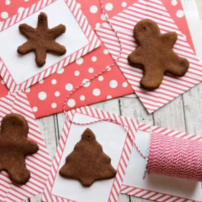 How to make cinnamon ornaments that look good enough to eat (but please don't!)