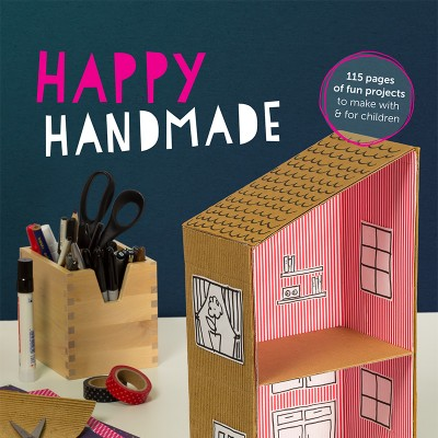 Happy Handmade, the new craft book you & your kids will love!