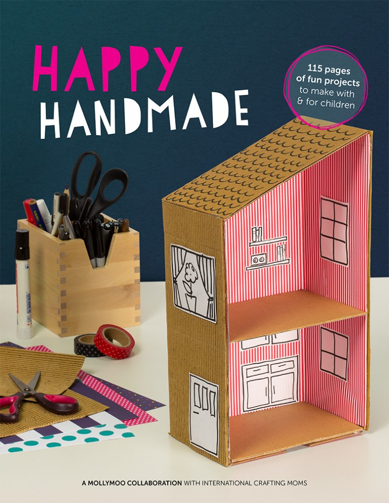 Book Cover Craft Quebec : Happy handmade the new craft book you your kids will