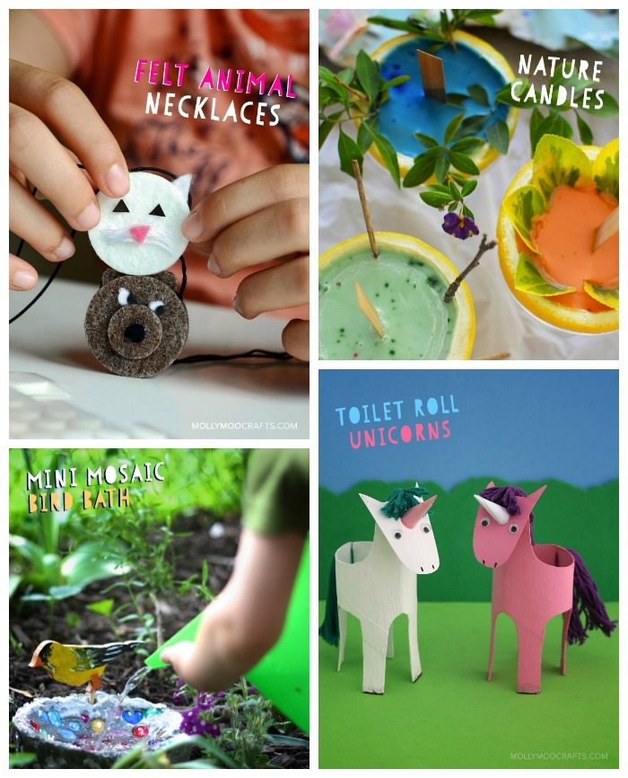 Projects from the Happy Handmade Craft Book I can't wait to try with the kids!