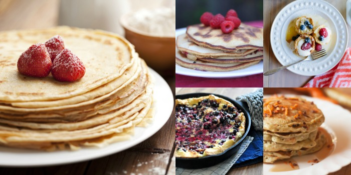 Who wants pancakes? Lots of great pancake recipes here