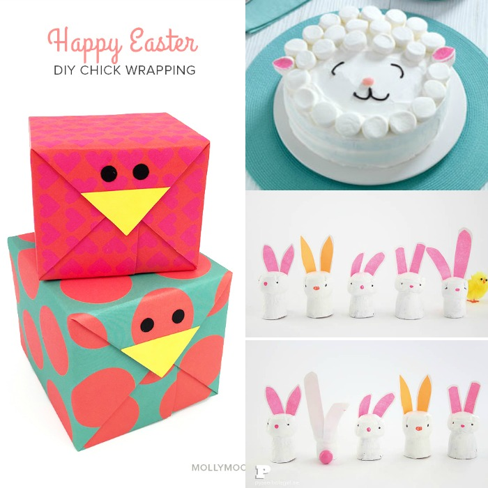 The cutest Easter crafts for kids, I think even I could do most of these!!