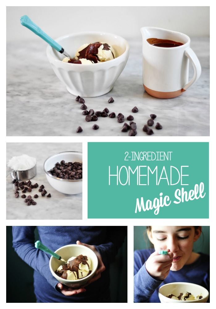 You wont believe how simple it is to make homemade magic shell! Bookmark this magic shell recipe now, you'll thank me later