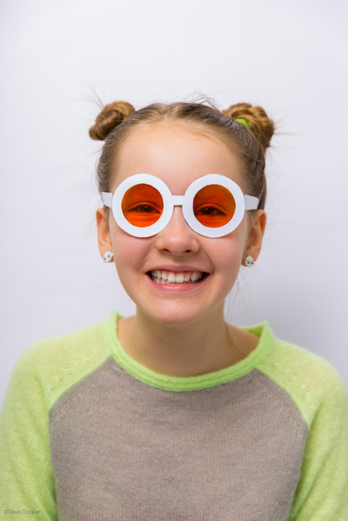Great activity for kids! Print & make your own colored glasses, they made a whole rainbow
