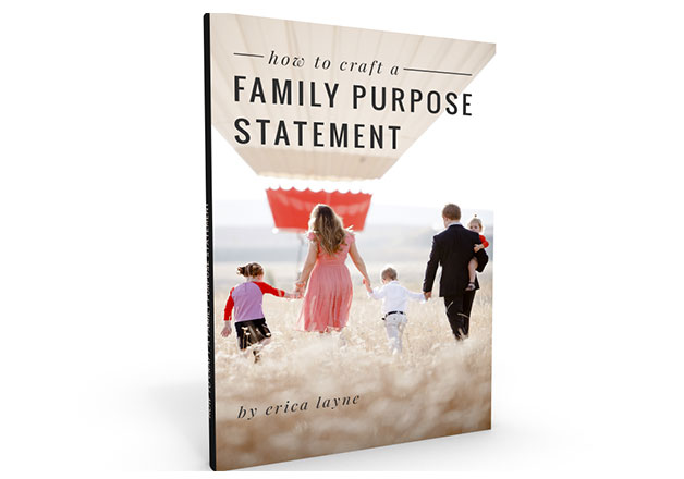 How to Craft a Family Purpose Statement