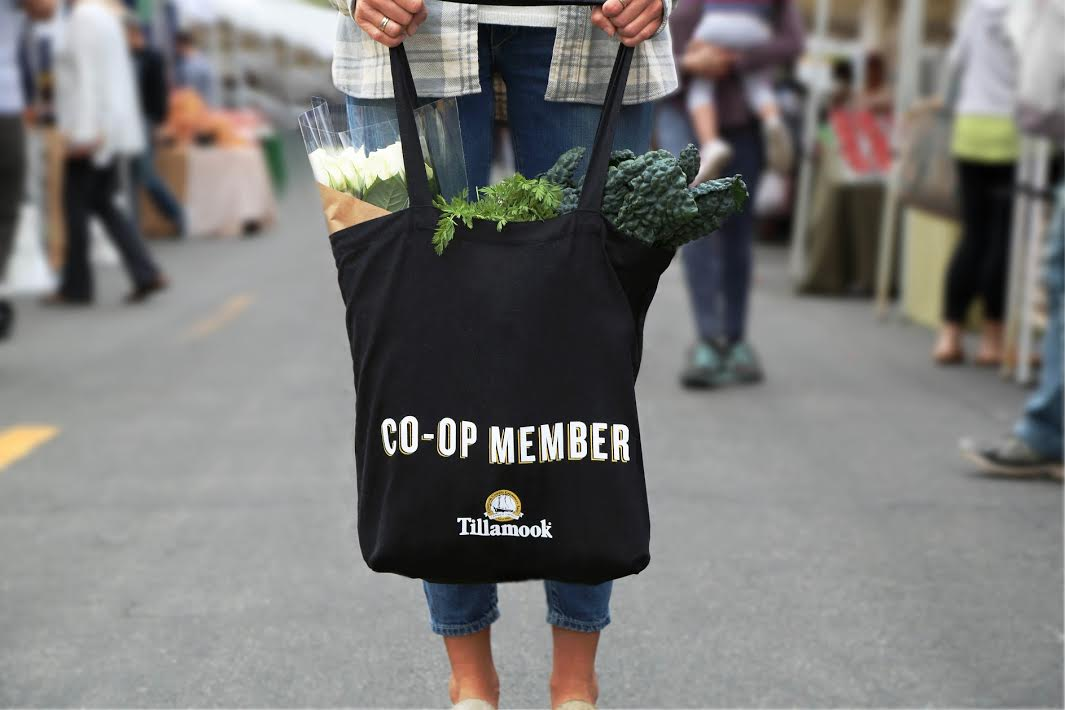 Join the Tillamook Co-op, help name some cows & get a FREE tote bag!