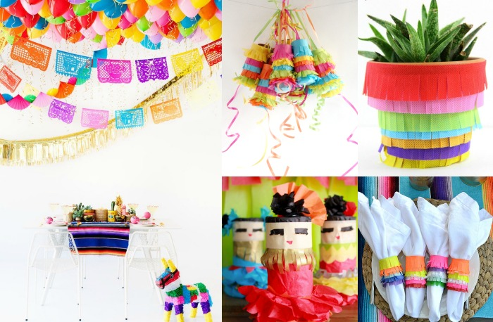 Do you celebrate Cinco de Mayo? These easy DIYs and colorful ideas will help you throw the ultimate fiesta party