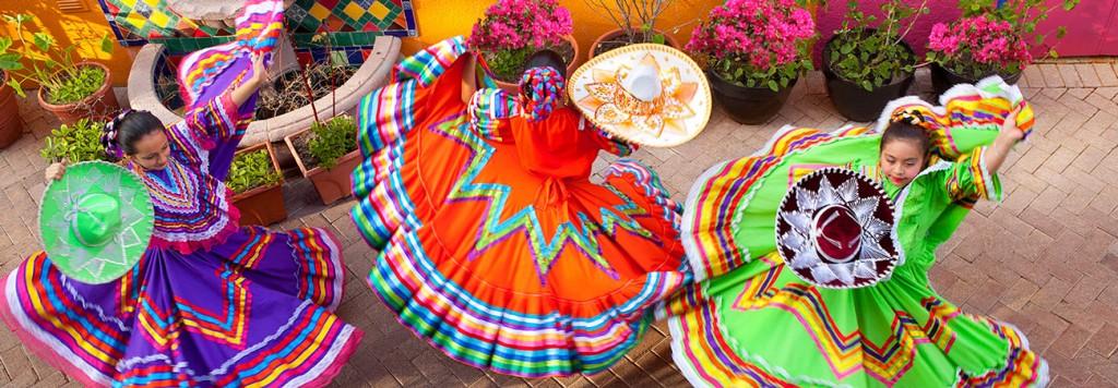 Folklorico Ballet Dancers - a must see in San Antonio!