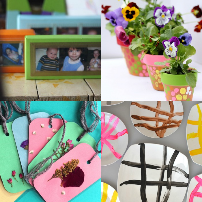 Handmade Mother's Day gifts anyone can make that she'll be happy to receive! There's still time to do something special for the Moms in your life this year