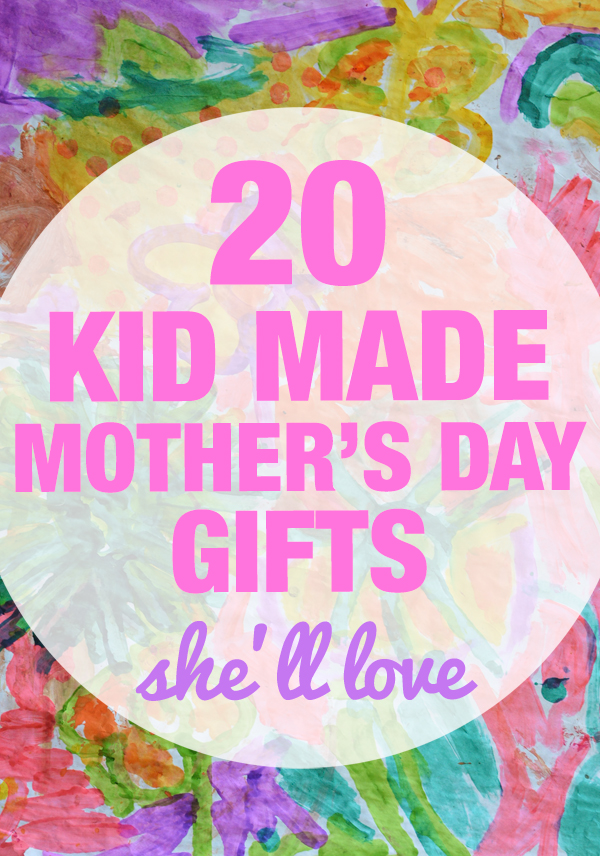 Lots of great ideas on gifts kids can make and give themselves - stuff you'd actually want too!
