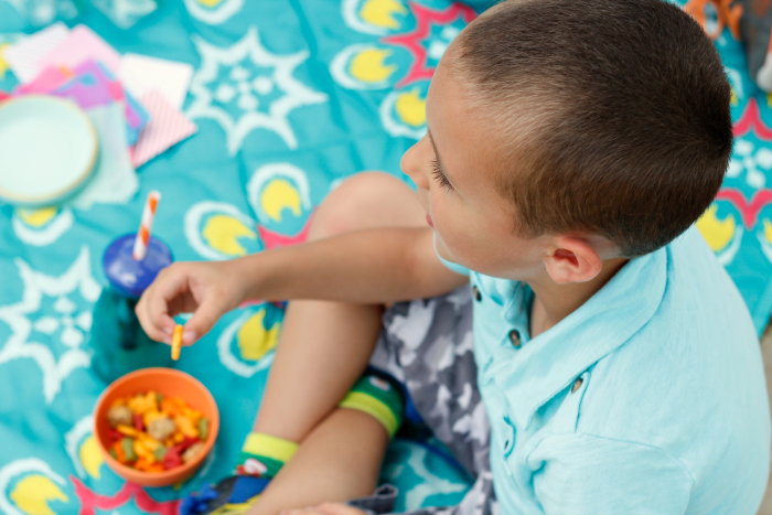 Great list of simple snack ideas for playdates