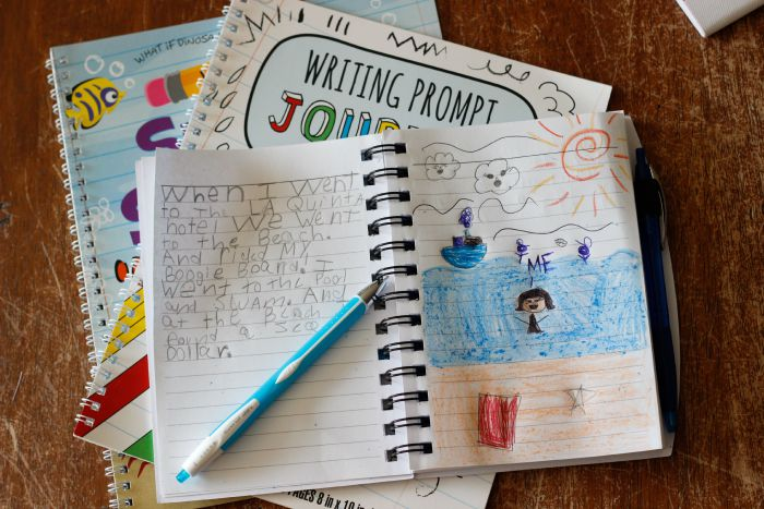 Encouraging kids to write down their favorite moments and memories is a great way to work on reading, writing and handwriting skills, not to mention creative thinking and a fun way to promote happiness and boost memory skills