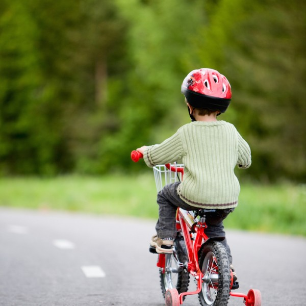 How to get started riding bikes as a family