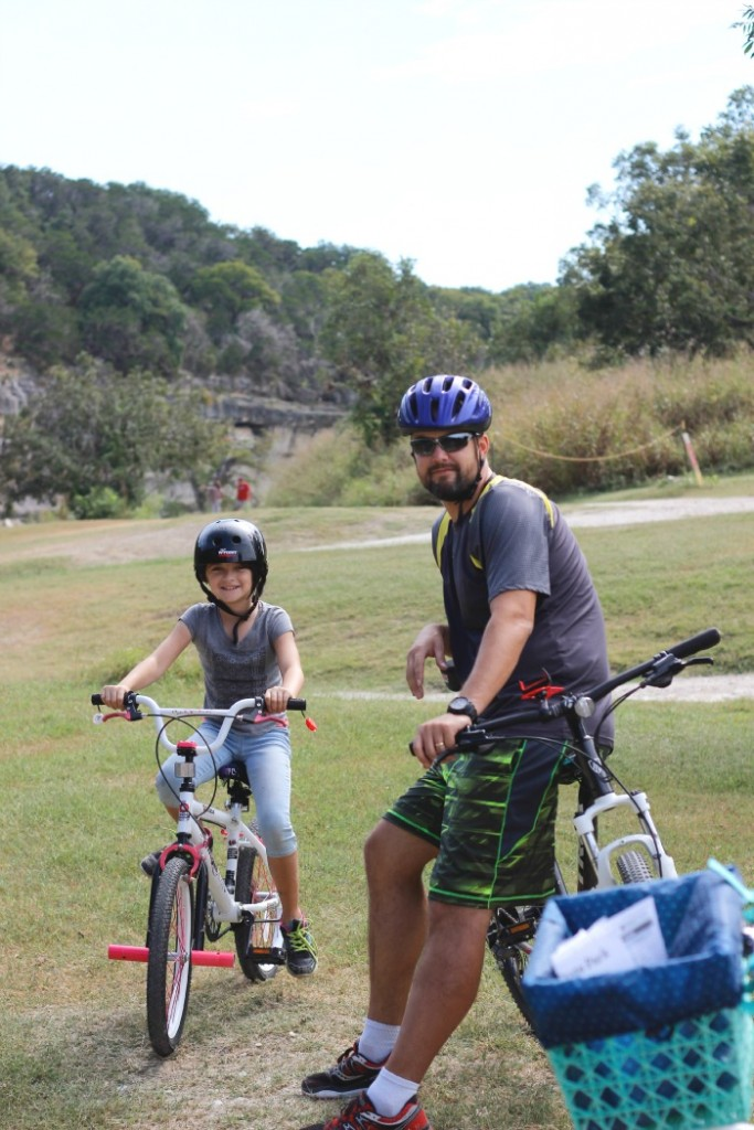 Riding bikes together is one of my family's favorite past times. Here's a few quick tips we've learned along the way to help get you out riding with yours today.