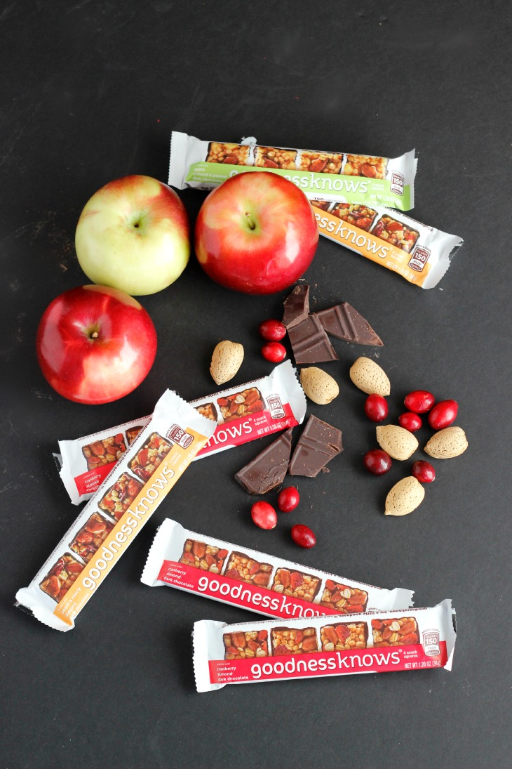 goodness knows wholesome snack bars made with simple ingredients and super tasty!