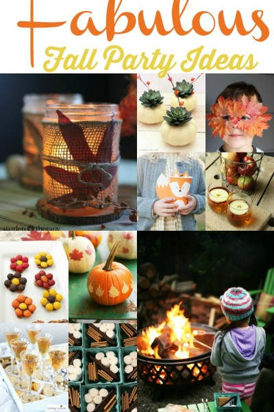 Fabulous Fall Party Ideas