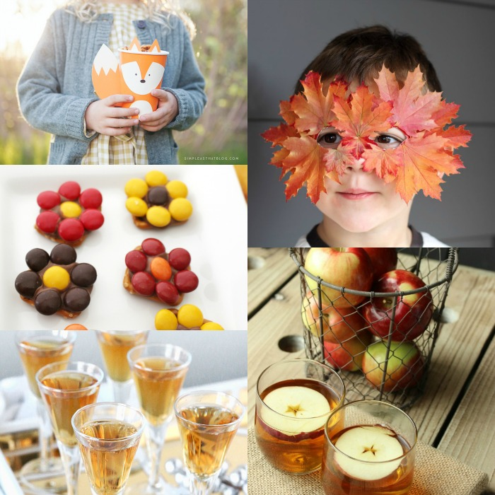 cute ideas for a fall party!