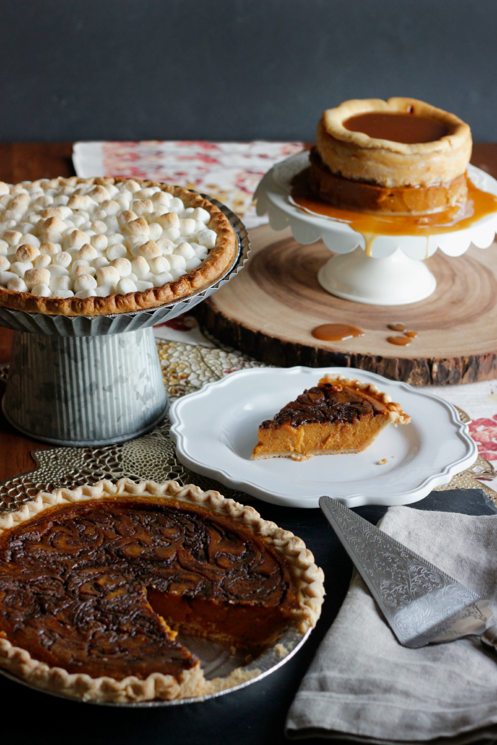 Simple ways to dress up pie for the holidays, recipe for the two-layer salted caramel cheesecake