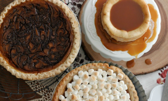 3 Ways to Dress Up A Store-Bought Pie For The Holidays