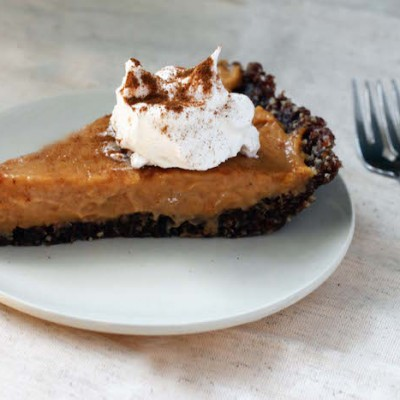Now Everyone Can Enjoy Dessert! No Bake Gluten-Free, Vegan Pumpkin Pie