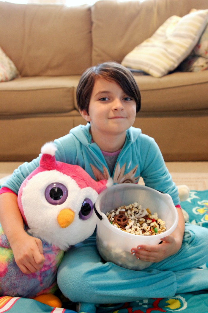 Cute & comfy PJs are a MUST for family movie nights